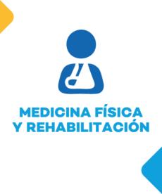 Especialidad Medicina Fisica - Salud MuniVentanilla