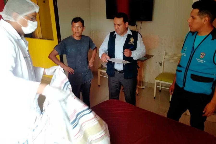 Inspeccion sanitaria Muniventanilla a Hoteles