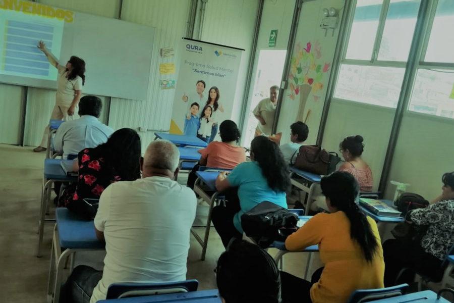 Qura Capacitacion dirigida a docentes de IEE