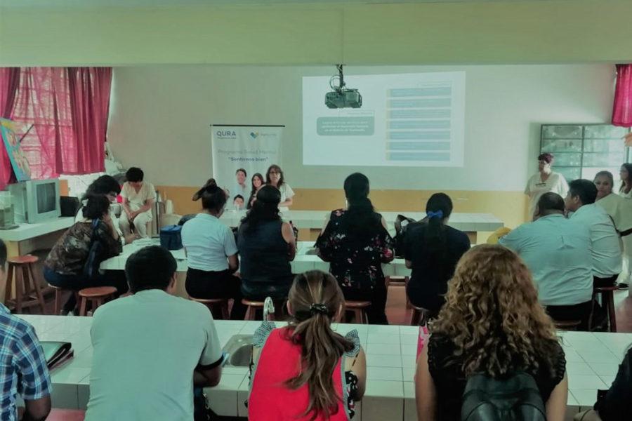 Qura Capacitacion dirigido a docentes de IEE 5086 Politecnico de Ventanilla